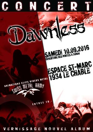Affiche concert St-Marc
